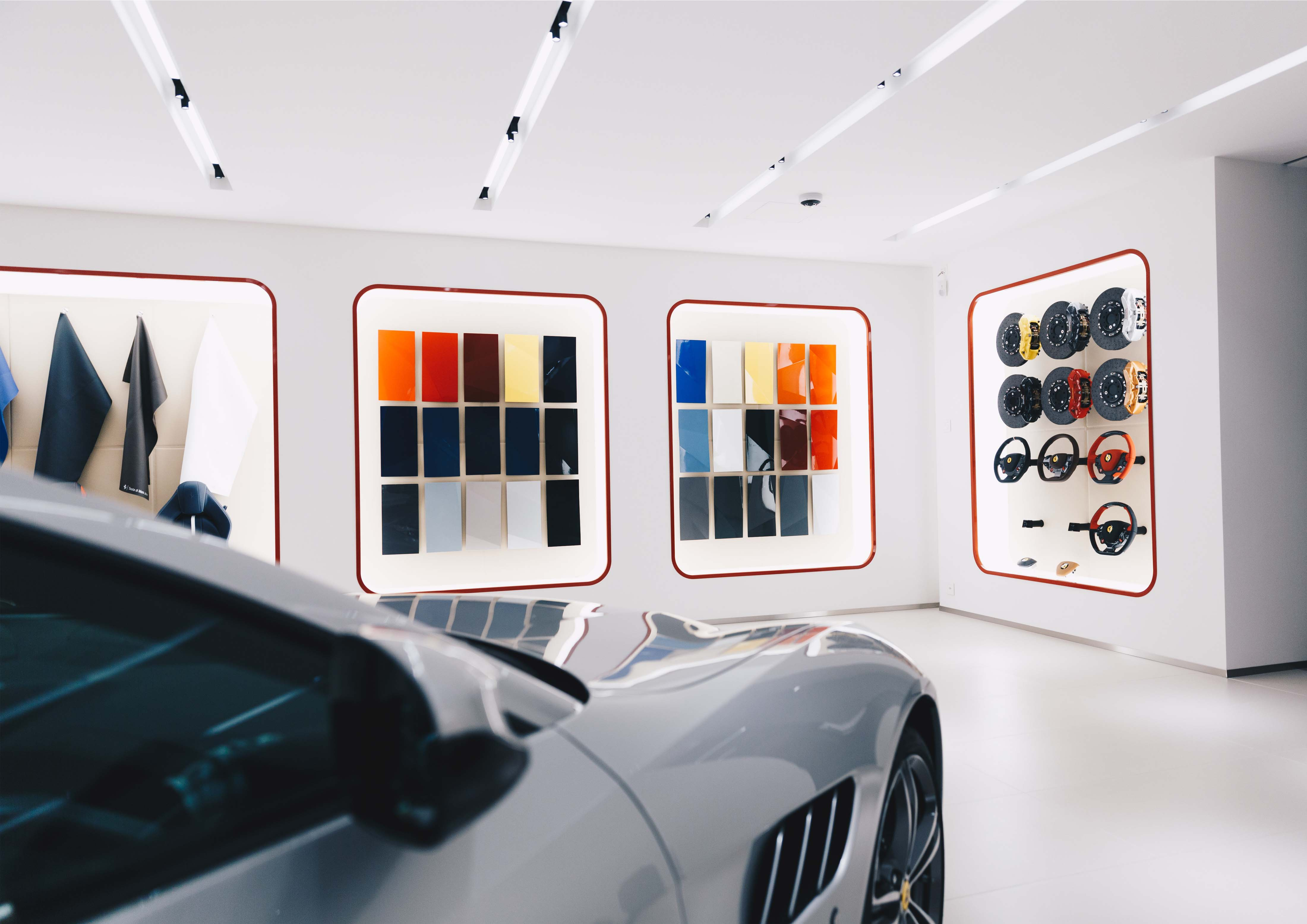 Ferrari Showroom Konzept Garage