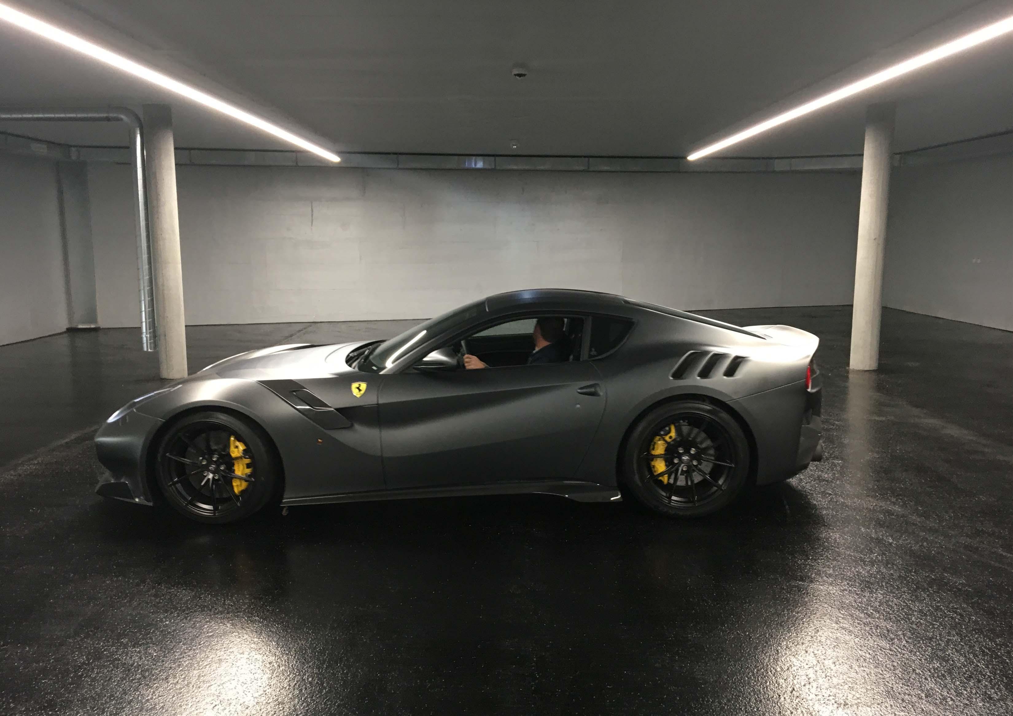Ferrari Tiefgaragenbeleuchtung 3